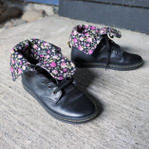 like new! doc martens ∙ stratford floral boots